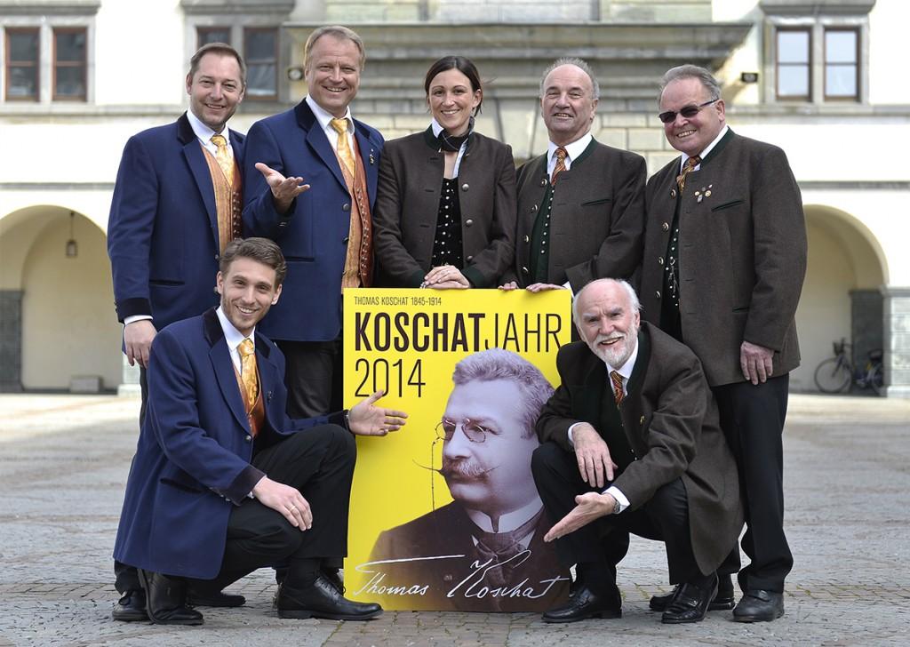2014 Koschatjahr Plakat