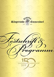 Festschrift 150 Jahre Sängerrunde Emmersdorf